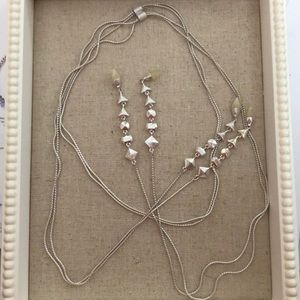 Stella & Dot Brynn Lariat (silver)
